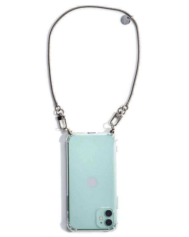 Maia iPhone Cell Phone Lanyard Case + Charlie Mini Clutch Strap