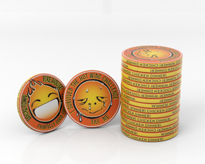 Custom Trophy Coins - 39mm