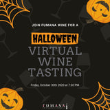 Fumana Wine Halloween Virtual Wine Tasting