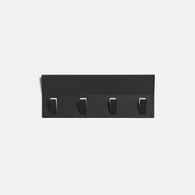 Load image into Gallery viewer, FLEXI - 4 Hooks - Black
