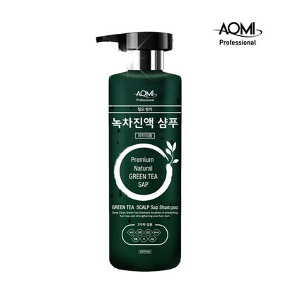 AOMI GREENTEA LEAF EXTRACT SHAMPOO 500ml