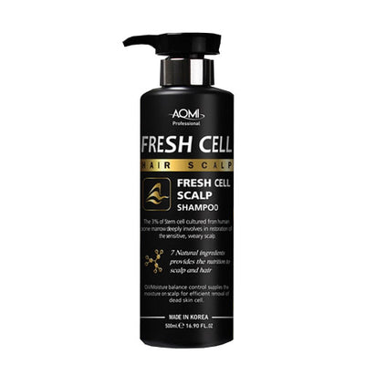 AOMI Fresh Cell Scalp Shampoo 500ml