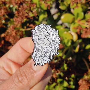 Zeus enamel pin - Pin Plugged
