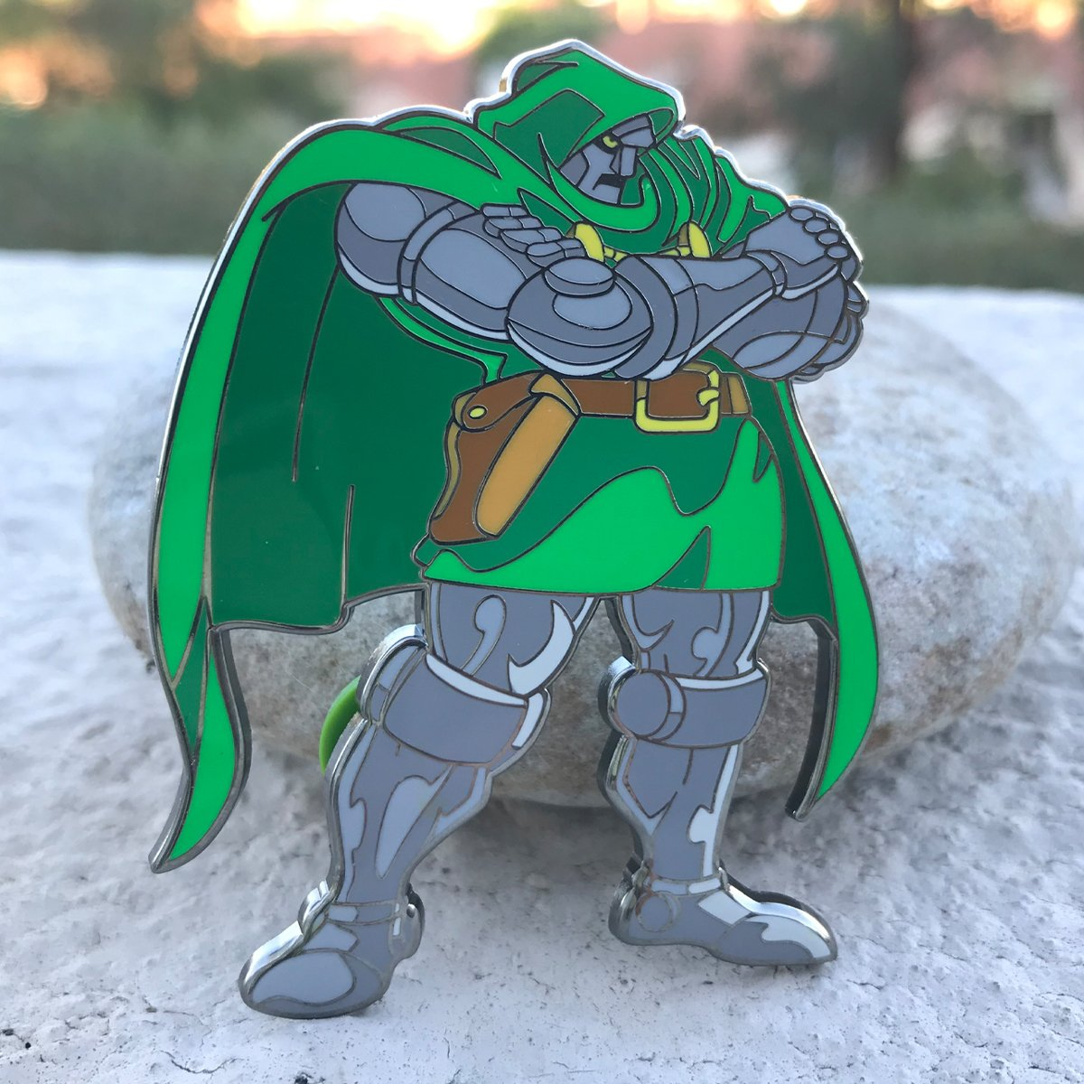 ClayGrahamArt VS PinPlugged Round 1 - DR. DOOM VS STRIDER - Pin Plugged