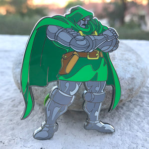 ClayGrahamArt VS PinPlugged Round 1 - DR. DOOM VS STRIDER