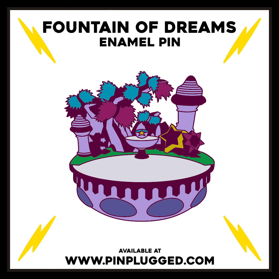 Fountain of Dreams - Pin Plugged