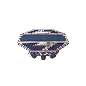 SSBM Final Destination Enamel Pin - Pin Plugged