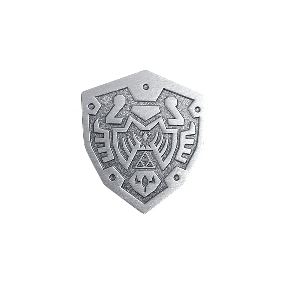 Hero's Shield Enamel Pin