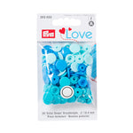 Prym Love Plastic Snaps - Blue Mix-Prym-Splashings of Fabric