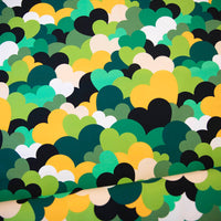 All My Love - Green - Organic Jersey-Vintage In My Heart-Splashings of Fabric