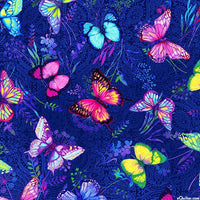 Studio E - Butterfly Paradise - Quilting Cotton-Studio E-Splashings of Fabric