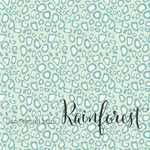 Pastel Mini Leopard Print - Rainforest - Organic Jersey-Lillestoff-Splashings of Fabric
