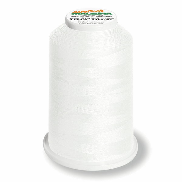 Ecru 8020 - Madeira Aerolock No.125 Overlocker Thread 2500m-Madeira-Splashings of Fabric