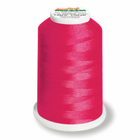 Neon Pink 9907 - Madeira Aeroflock No. 100 Bulk Thread 1000m-Madeira-Splashings of Fabric