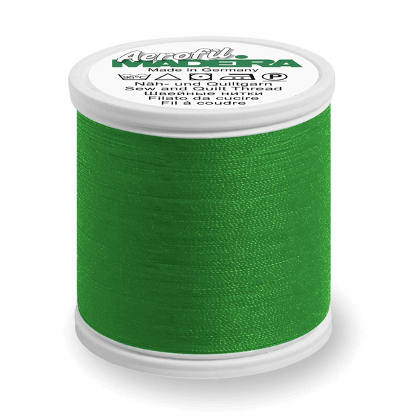 Dark Green - Madeira Aerofil No.120 Sew All Thread 400m-Madeira-Splashings of Fabric