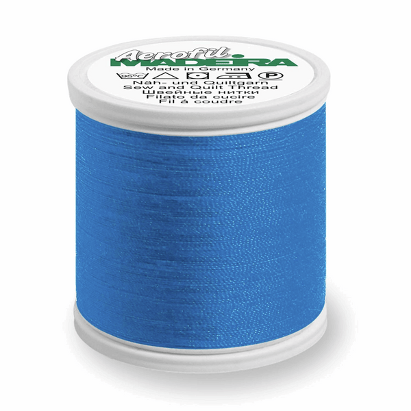 Sapphire - Madeira Aerofil No.120 Sew All Thread 400m-Madeira-Splashings of Fabric