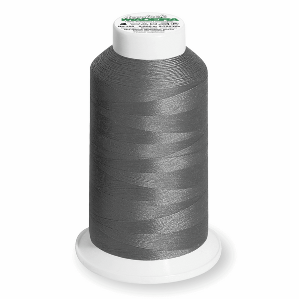 Silver Grey 8111 - Madeira Aerolock No.125 Overlocker Thread 2500m-Madeira-Splashings of Fabric