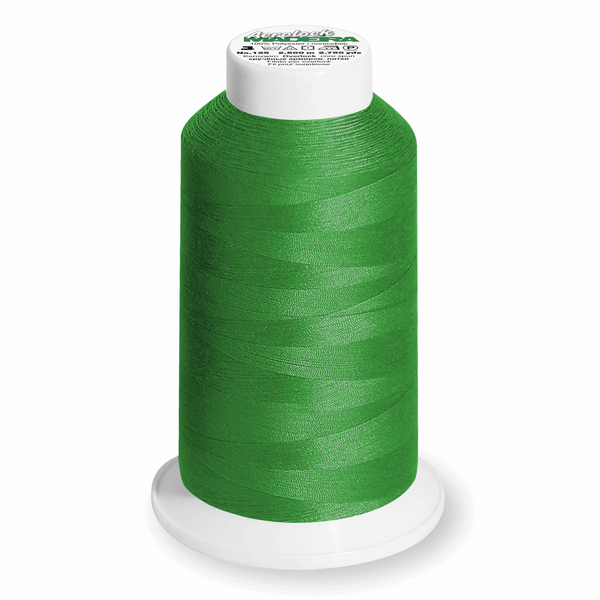 Dark Green 8500 - Madeira Aerolock No.125 Overlocker Thread 2500m-Madeira-Splashings of Fabric