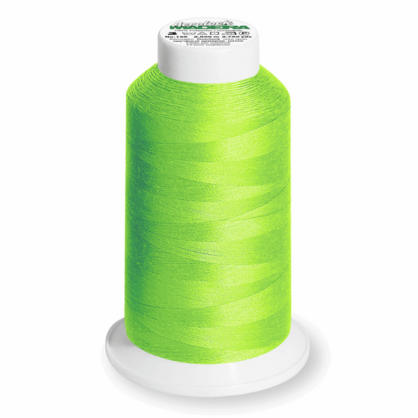 Apple Green 8990 - Madeira Aerolock No.125 Overlocker Thread 2500m-Madeira-Splashings of Fabric