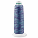 Variegated Blue Lagoon 9508 - Overlocker Thread-Madeira-Splashings of Fabric