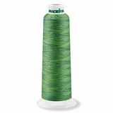 Variegated Amazon 9509 - Overlocker Thread-Madeira-Splashings of Fabric