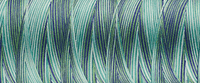 Variegated Ocean 9601 - Overlocker Thread-Madeira-Splashings of Fabric
