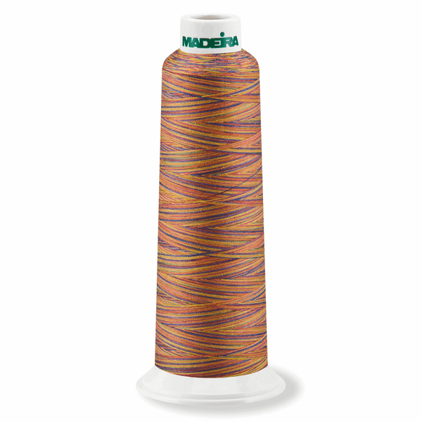 Variegated Confetti 9609 - Overlocker Thread-Madeira-Splashings of Fabric