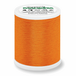 Tangerine - Madeira Decora 6 Decorative Overlocker Thread 100m-Madeira-Splashings of Fabric