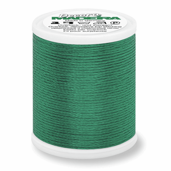 Pine Green - Madeira Decora 6 Decorative Overlocker Thread 100m-Madeira-Splashings of Fabric