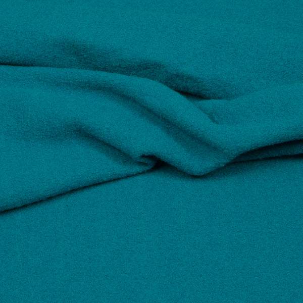 Light Walker Wool - Dark Aqua-Hilco-Splashings of Fabric