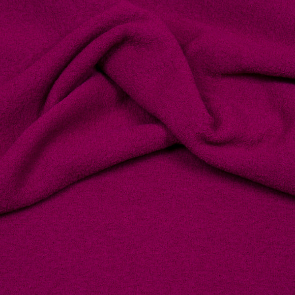 Light Walker Wool (boiled wool) - Raspberry-Hilco-Splashings of Fabric