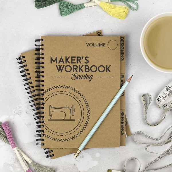 Makers Workbook - Sewing-Pattern Trace-Splashings of Fabric