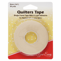 Quilters Tape 6mm x 27m-Sew Easy-Splashings of Fabric