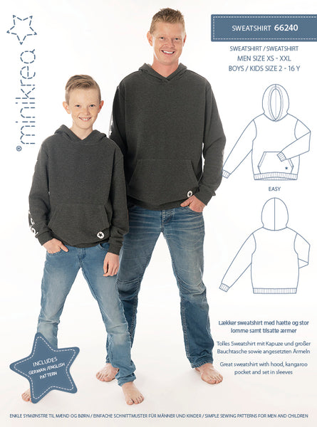 MiniKrea - 66240 Sweatshirt – Paper Pattern-MiniKrea-Splashings of Fabric