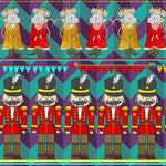 EXCLUSIVE - Nutcracker-Custom-Splashings of Fabric