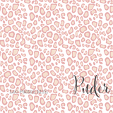 Pastel Mini Leopard Print - Powder - Organic Cotton Poplin-Lillestoff-Splashings of Fabric