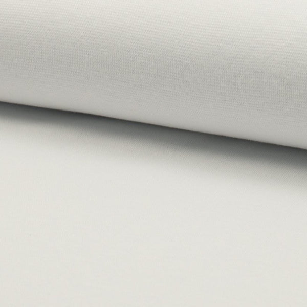 Tubular - Smooth Rib - White-Splashings of Fabric-Splashings of Fabric