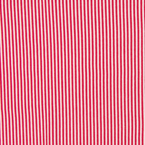 Tubular - Smooth Rib -Red/White-Splashings of Fabric-Splashings of Fabric