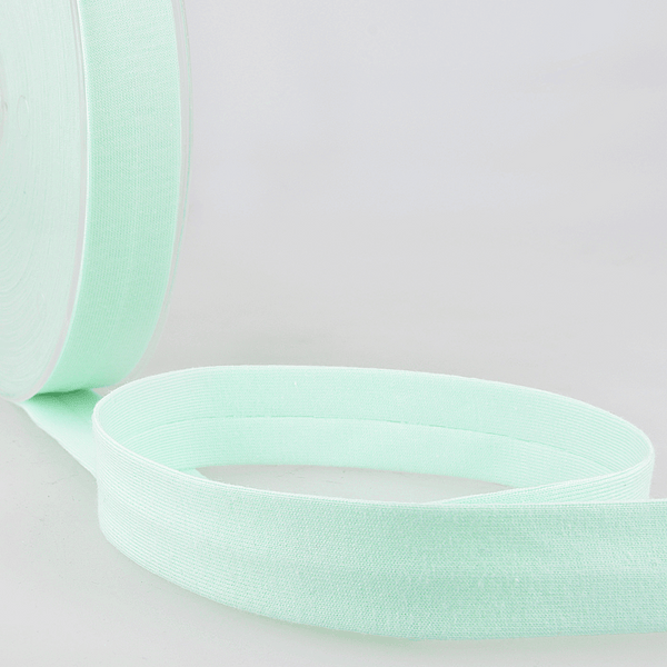 Mint - 20mm - Stretch Bias Binding-Stephanoise-Splashings of Fabric