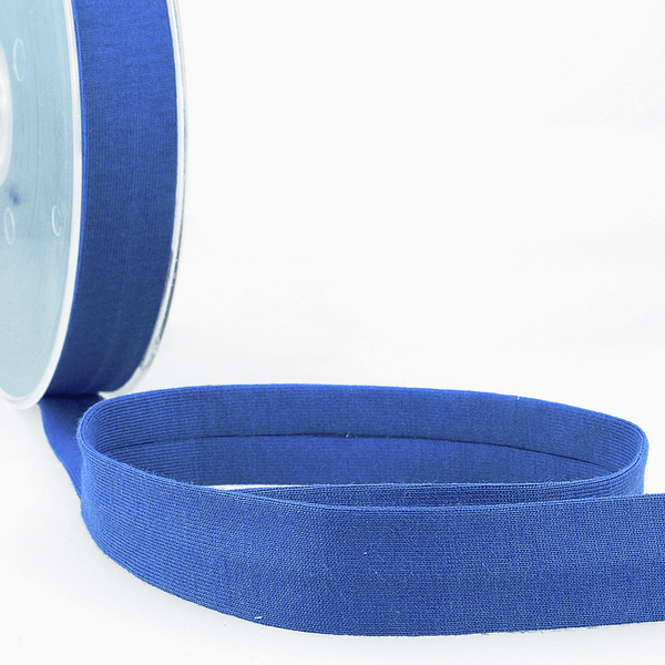 Royal Blue - 20mm - Stretch Bias Binding-Stephanoise-Splashings of Fabric