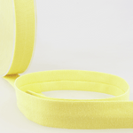 Lemon - 20mm - Stretch Bias Binding-Stephanoise-Splashings of Fabric