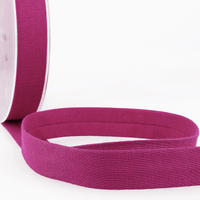 Dark Raspberry - 20mm - Stretch Bias Binding-Stephanoise-Splashings of Fabric