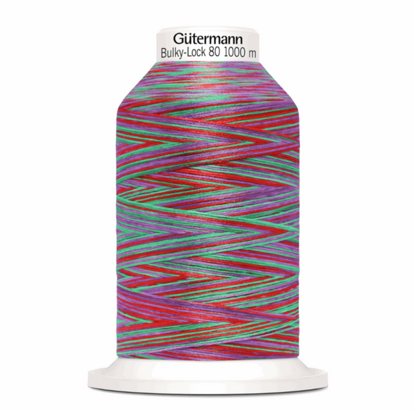 Berry - Gutermann Creativ Bulky Lock 80 Overlocking Thread 1000m-GUTTERMAN-Splashings of Fabric