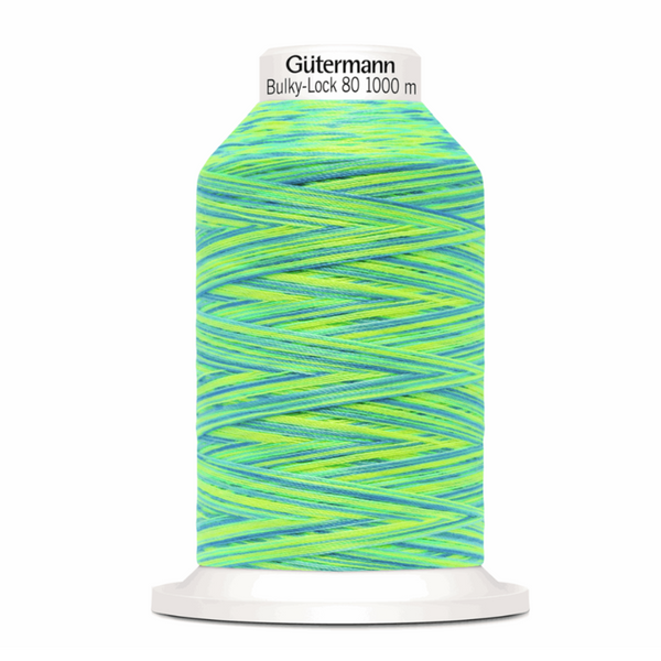 Tropical - Gutermann Creativ Bulky Lock 80 Overlocking Thread 1000m-GUTTERMAN-Splashings of Fabric