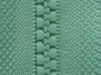 Mint D871 - Open Ended Chunky Zip-Splashings of Fabric-Splashings of Fabric