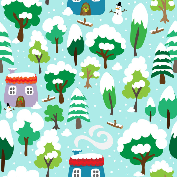 EXCLUSIVE - Snowy Day-Custom-Splashings of Fabric