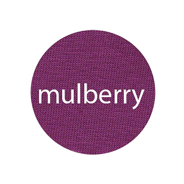 Mulberry - Organic Jersey-Wolf and Rabbit-Splashings of Fabric