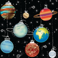 EXCLUSIVE - Space Baubles-Custom-Splashings of Fabric