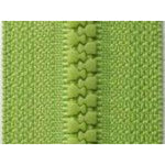 Apple Green B44 - Open Ended Chunky Zip-Splashings of Fabric-Splashings of Fabric