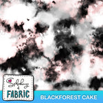 Tie Dye - Blackforest Cake - Large-Custom-Splashings of Fabric